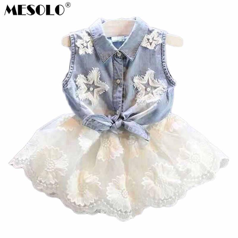9d6f6db0d162a MESOLO 2018 Casual Girls Dresses Girls Polka Dot Dresses - AliExpress