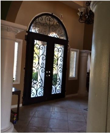 Custom Design Forged Wrought Iron Front Doors Iron Doors Iron Entry
