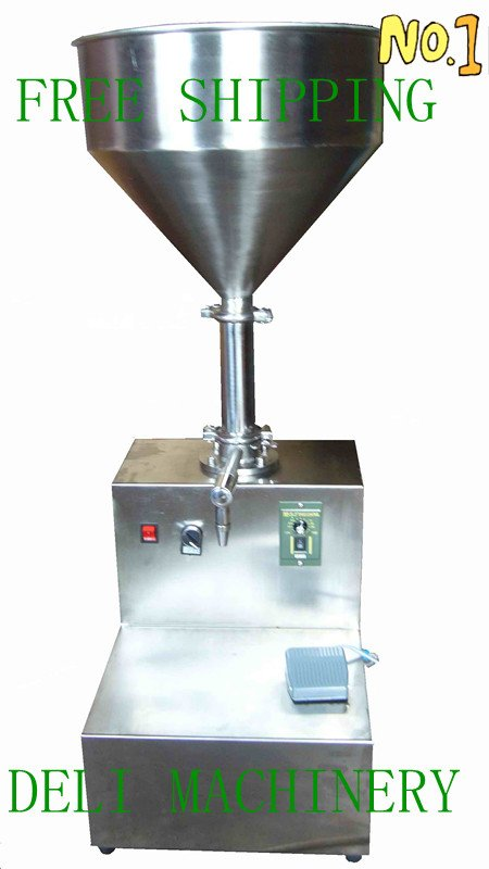 paste filling machine +(0-100ml)electrical filling machine+single head +paste filling machine