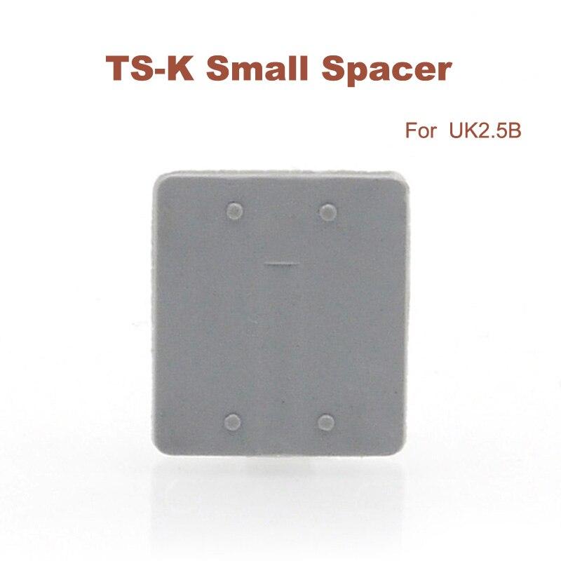 200pcs Universal terminals small spacer TS K Din rail terminal block UK2.5B accessories Clapboard spacers UK series small insert Terminal Blocks     - title=