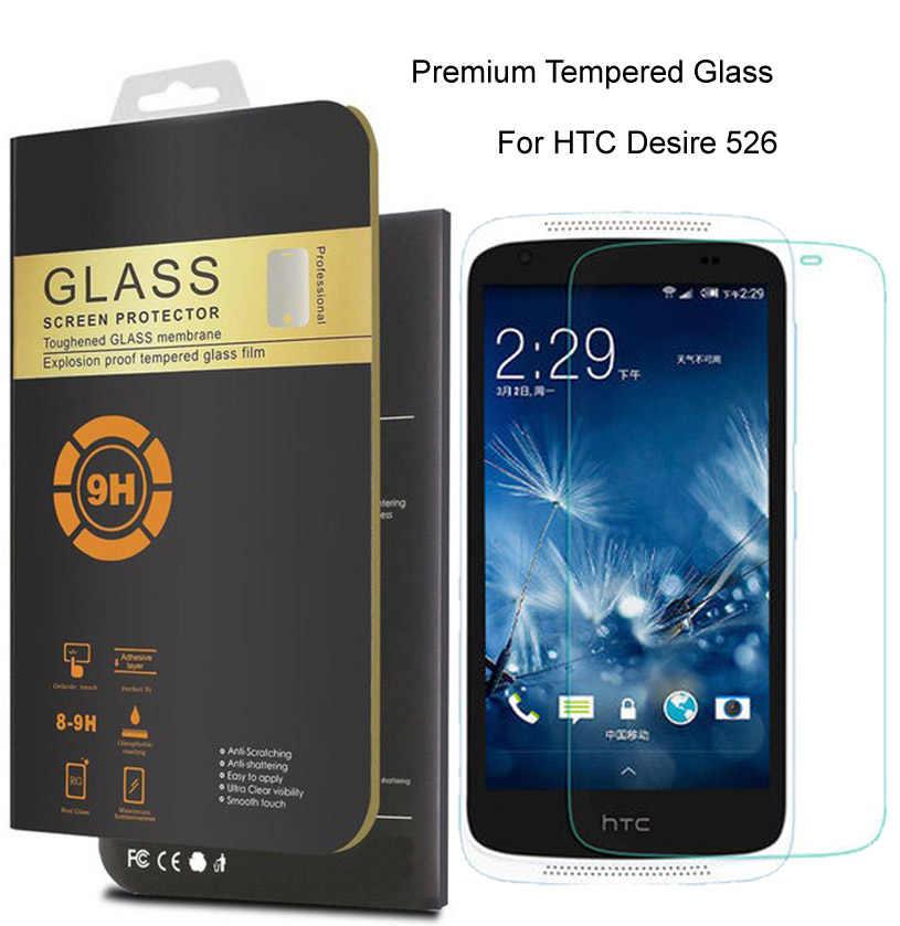 Для HTC Desire 526G + dual sim 0 26 мм Премиум Защитная пленка Закаленное стекло для 526 экрана