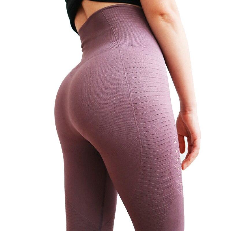 De cintura alta pantalones de Yoga tiburón gimnasio sin polainas alta elástico ejercicio mujeres, pantalones de Yoga deportes