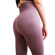 High Waisted Yoga Pants Gym Seamless Leggings Exercise Tights Women Pa