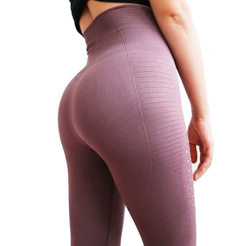 High Waisted Yoga Pants Shark Gym Seamless Leggings High Elastic