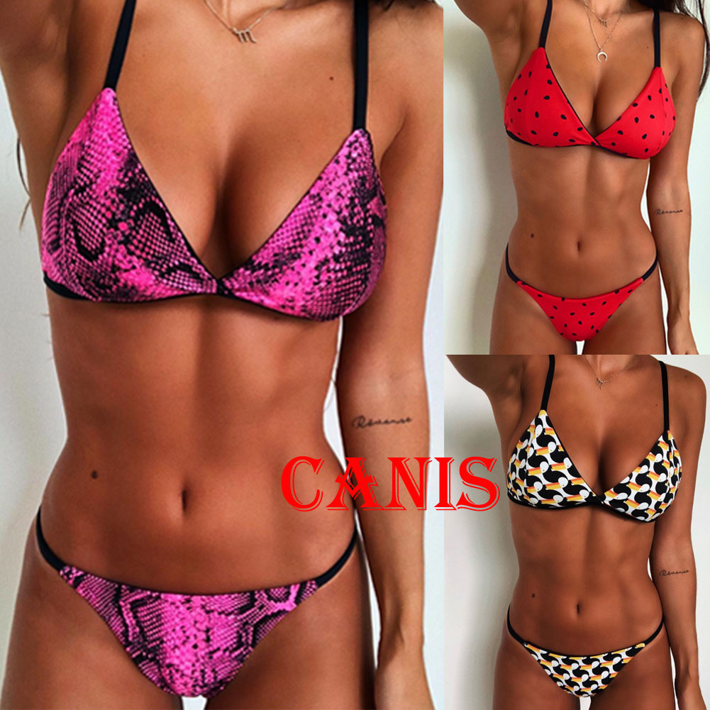 HTB1zF3CV3HqK1RjSZFEq6AGMXXa3 2018 New Flower Bikinis Set Combinatorial Set Sexy Women Swimwear Push Up Padded Neon Bandage Swimsuits Hot Selling Bathing Suit