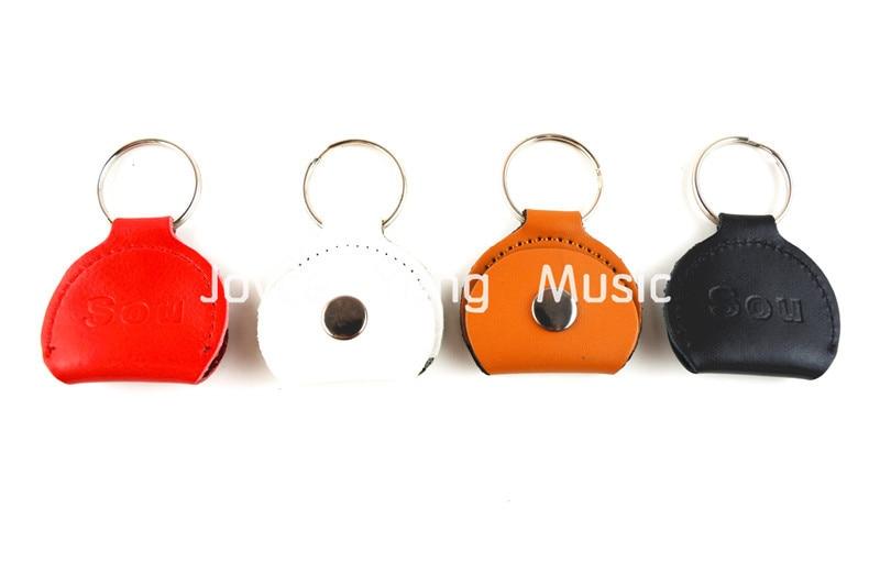 Gran colorido de cuero Selecciones de guitarra Holder Keyring + Free - Instrumentos musicales - foto 6
