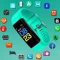 새로운 스포츠 시계 어린이 시계 여자 아이 소년 학생 손목 시계 전자 led 디지털 어린이 손목 시계 hodinky 선물