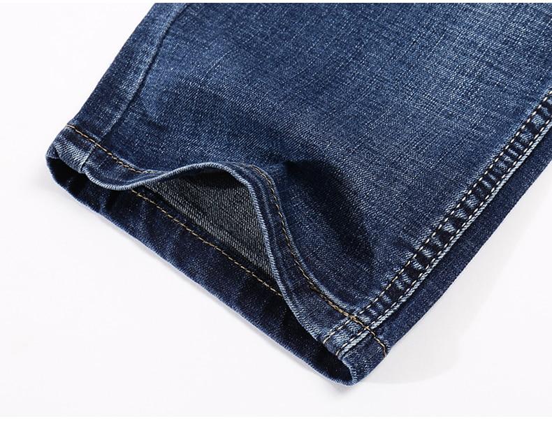 KSTUN Jeans Men Summer 2020 Thin Blue Slim Straight Denim Pants Casual Fashion Men's Trousers Full Length Cowboys Man Homme Jean 18