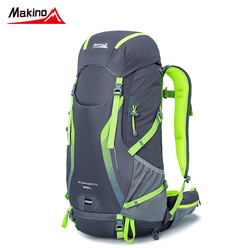 Makino Large 60L Outdoor Backpack Waterproof Nylon Travel Bags Camping Hiking Climbing  Backpacks Sport Rucksack Sport bags
