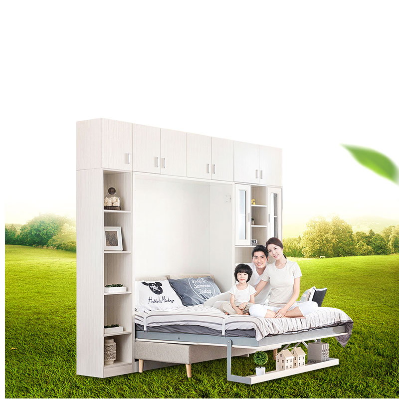 TB1001 Customized multifunctional Quality Modern Wall Bed & Murphy Wall Bed Manufacturer pull down bed fold-down bed цены