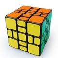 WitEden 3x3x4 Magic Cube Enigma Velocidade Cubos Cubo Magico Crianças brinquedos de Aprendizagem Educacional Do Cérebro Teaser IQ Brinquedo Mixup Além do Preto corpo