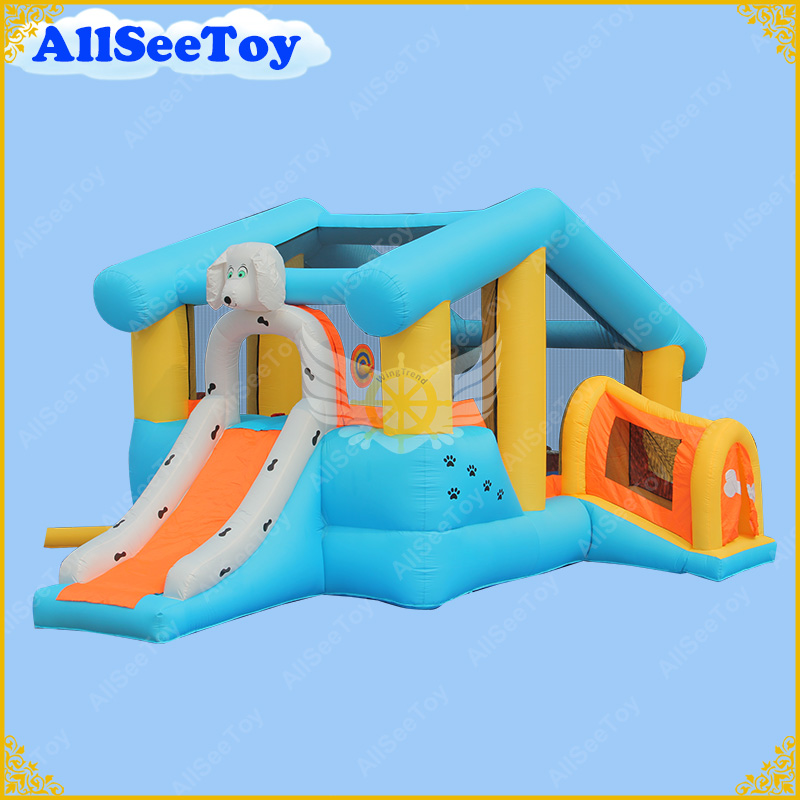 Family Use Inflatable Bouncer Combo Slide,Bounce House For Children,Bouncy Castle with Air Blower yard inflatable bounce house inflatable combo slide bouncy castle jumper inflatable bouncer pula pula trampoline with blower