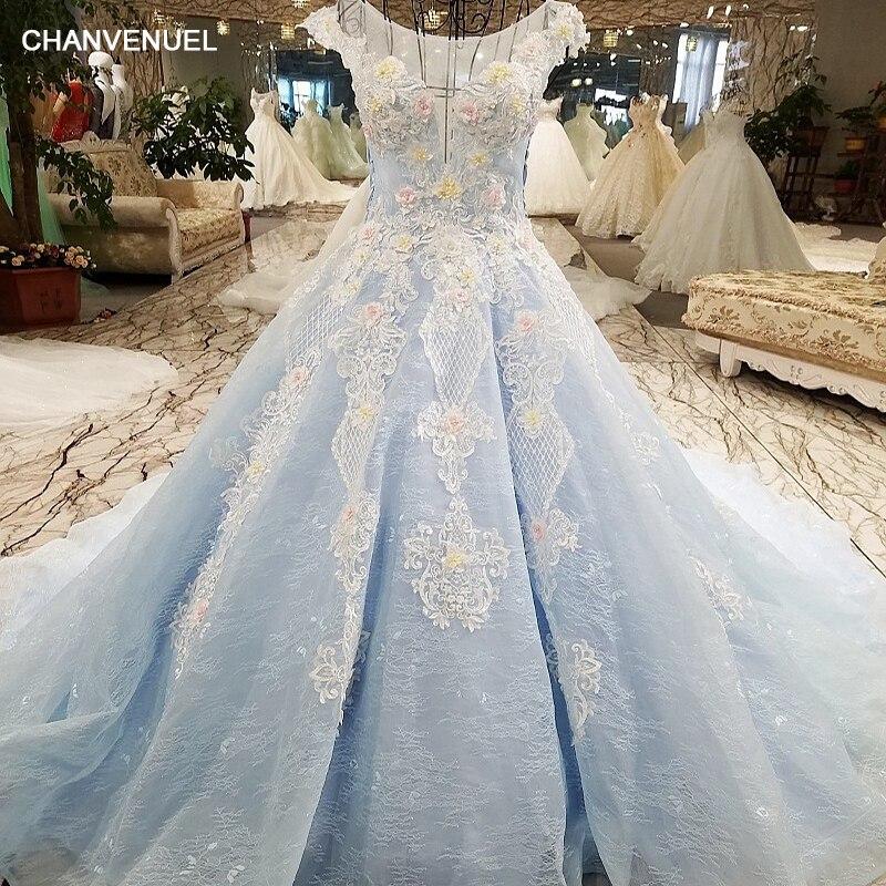 LS00413 1 красивые когда либо довольно симпатичные синие кружевные цветы вечернее платье с зашнурованными вверх