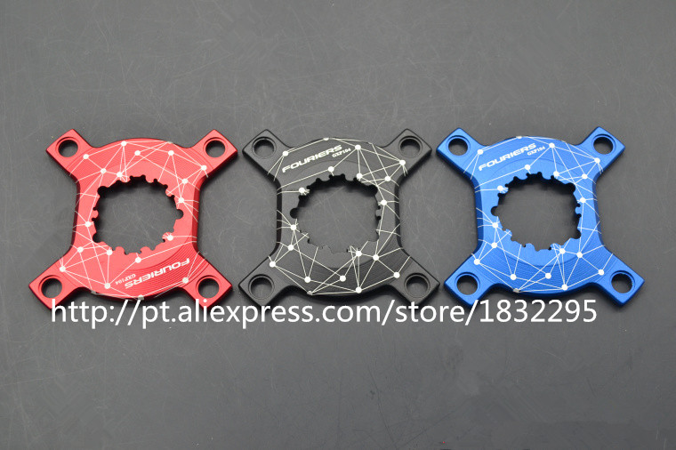 Fouriers CNC Chain Ring Spider Adapter For P.C.D 104 Chainrings XX1 X0 X9 GXP Cranks Come /converter
