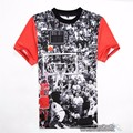 Новое прибытие Мужская Иордания Футболка 23 с коротким рукавом майка характер 3d отпечатано хип-хоп панк Уличная футболки