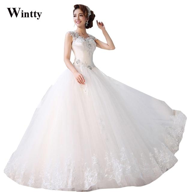 Wintty Sexy Brautkleider 2015 Spitze Prinzessin Vintage Straps ...
