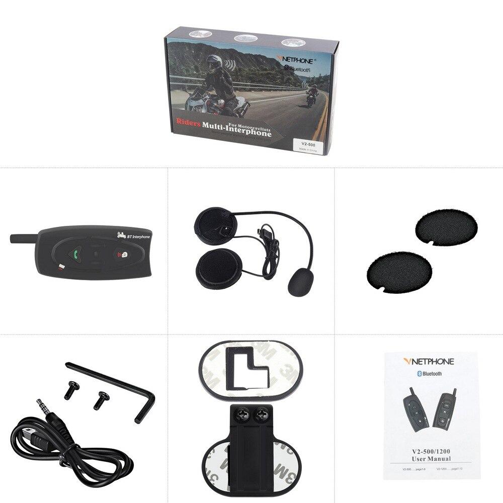 Motorcycle Helmet Walkie-talkie Cold-resistant Waterproof Noise Reducing Bluetooth Headset Wireless Walkie-talkie Electric Skiin