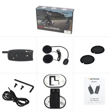Motorcycle Helmet Walkie-talkie Cold-resistant Waterproof Noise Reducing Bluetooth Headset Wireless Electric Skiin