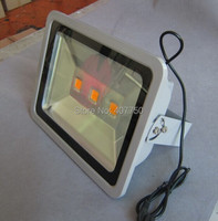 long range single color COB 3pcs led chips 150w led flood light used for football fields and billboards