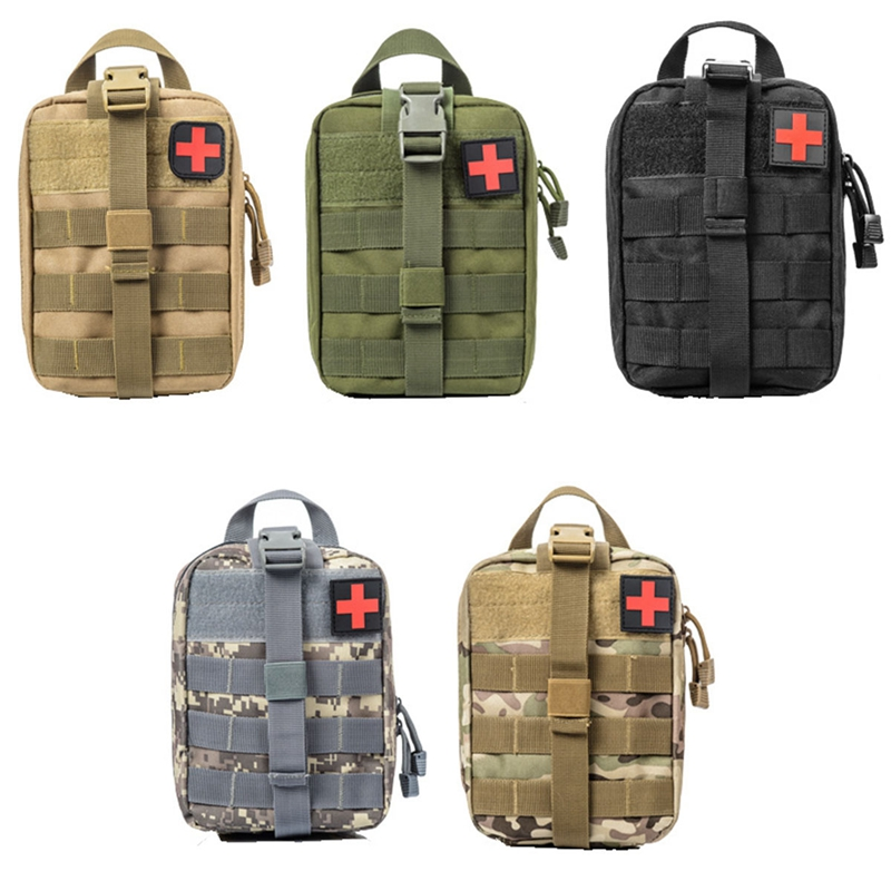 Tactics First Aid Kit Emergency Survival Tactical Molle Medical Pouch Utility Car Airsoft Hunting Medical Quick Pack