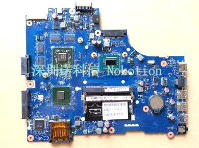 NOKOTION CN-0NYR2G 0NYR2G NYR2G Laptop Motherboard For Dell Inspiron 3721 5721  i7-3537u cpu  la-9102p Mainboard full tested cn 0md666 laptop motherboard for dell inspiron 6400 e1505 da0fm1mb6f5 rev f 945gm ddr2 mainboard mother boards