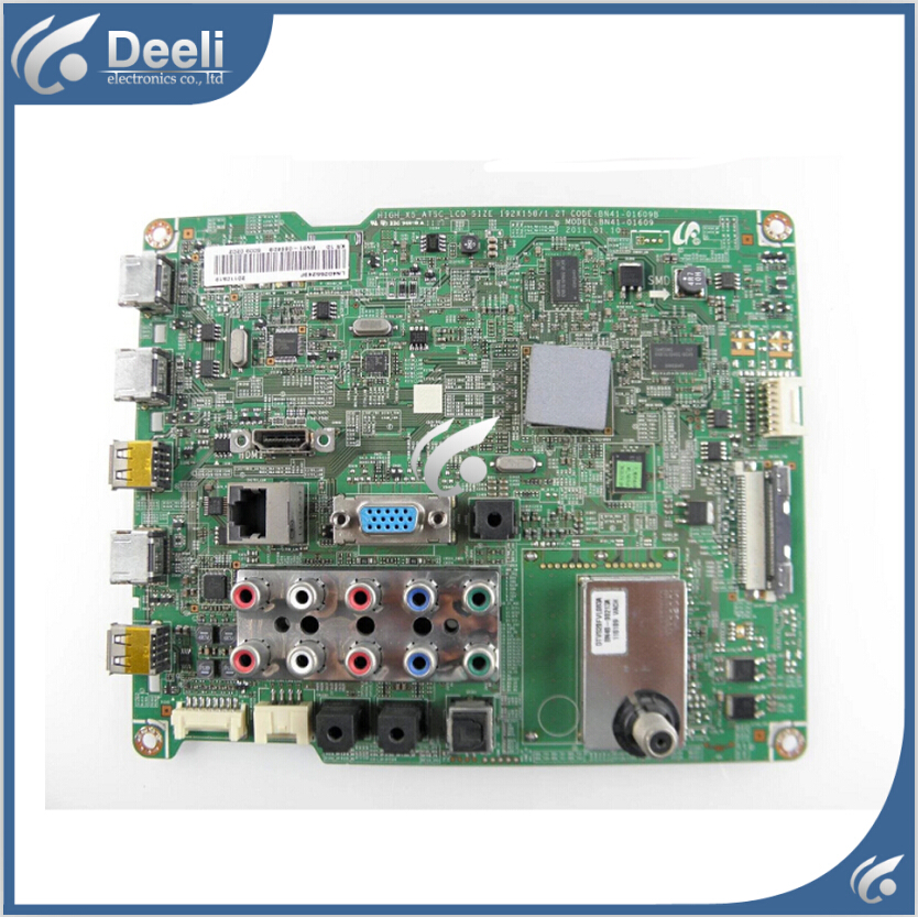 95% new for Samsung LN40D552K3F motherboard BN41-01609B V.7 T400HW03 холодильник samsung rs 552 nruasl