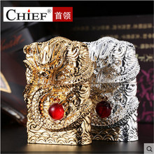 2018 Supreme Dragon USB Lighter Electronic Arc 3D Ruby Relief Torch Pulsed Thunder Metal Plasma Cigar