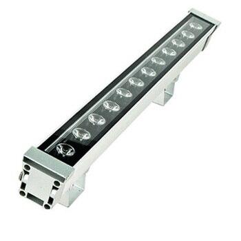 De alta potencia 18 W 46*46*1000 IP65 impermeable al aire libre de luz de inundación led arandela de pared LED lámpara luz de pared de lavado de paisaje 12 V-24 V/85-265 V