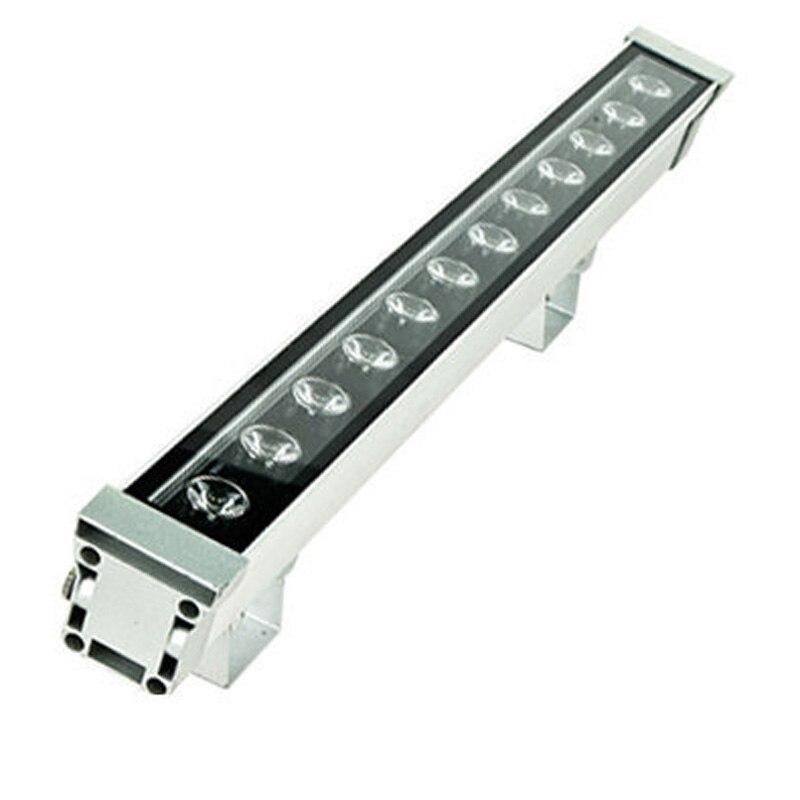 Haute puissance 18 W 46*46*1000 IP65 étanche extérieure led flood light LED Wall washer lampe paysage Lavage de mur de lumière 12 V-24 V/85-265 V
