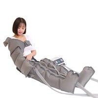Портативный для прессотерапии аппарат для лимфодренажа воздушное давление прессотерапия массажер для тела Детокс для похудения