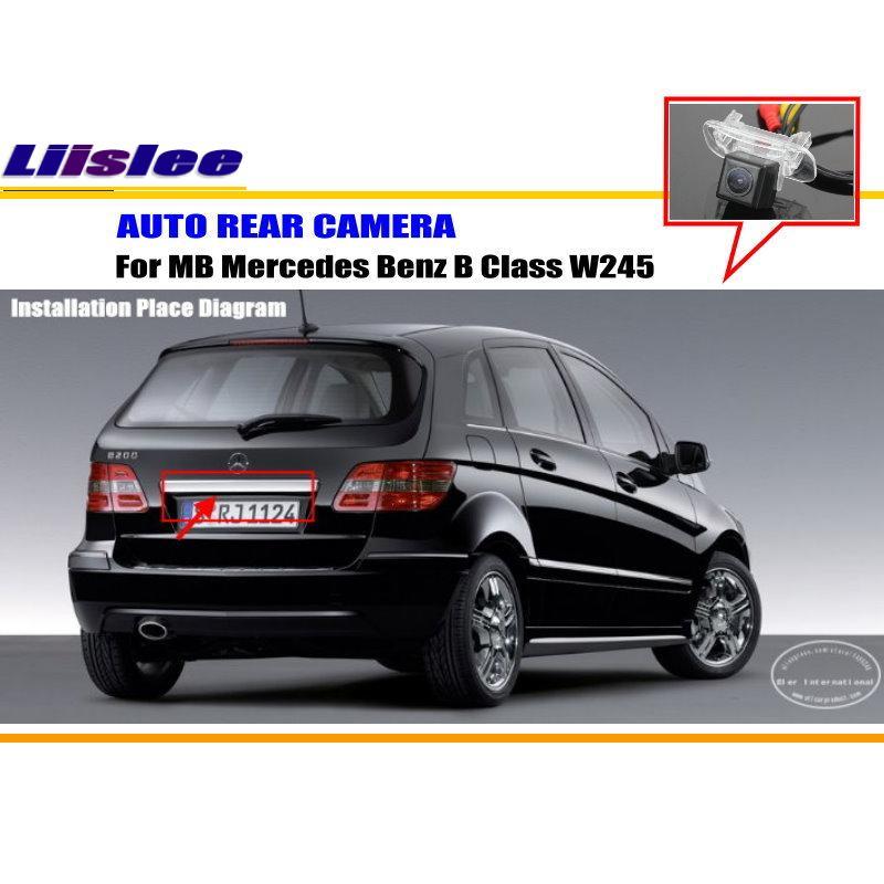 imágenes para Cámara del coche Para Mercedes Benz B Class W245/Retrovisor cámara/CCD HD RCA NTST PAL/Luz de la Matrícula OEM