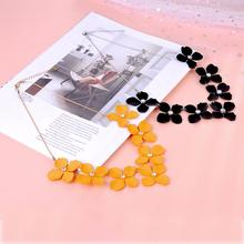 imixlot New Korean Fashion Sweet and Rich Summer Flowers Short Necklace Women Statement Beautiful Jewelry