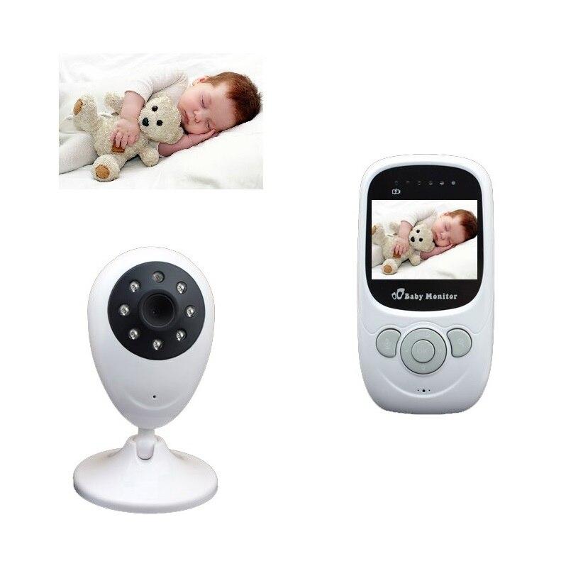 Monitores de vídeo Bebé monitor de Temperatura de INFRARROJOS de visión Nocturna