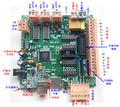 MK2 4 Ось USB ЧПУ Плате Контроллера Интерфейса CNCUSB Заменить MACH3 ДЛЯ шагового серводвигатель 3d Принтер