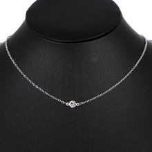 Fashion Cubic Zirconia Choker Necklace For Woman Bijoux Collar Vintage Boho Round Statement Necklace Party Jewelry