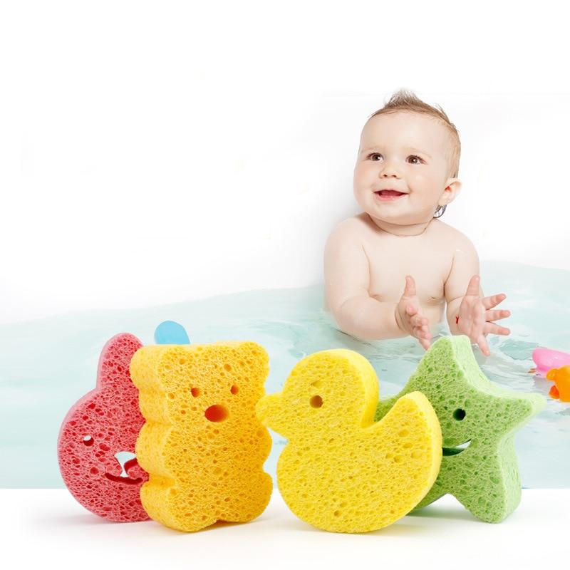 Bath Brushes Towel Accessories Baby Infant Shower Faucet Wash Child Sponge Bath Brushes Sponges Rub Sponge Cotton Rubbing Body