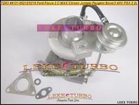 Free Ship TD03 49131 05212 6U3Q6K682AE Turbo Turbocharger For Ford For Focus 2 C MAX For Citroen Jumper Peugeot Boxer 3 4HV 2.2L