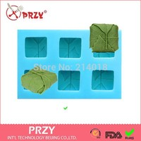 przy Free shipping DIY Sell hot 3D 6hole leaves shaped silicone mold fondant Cake decoration mold Handmade soap mold
