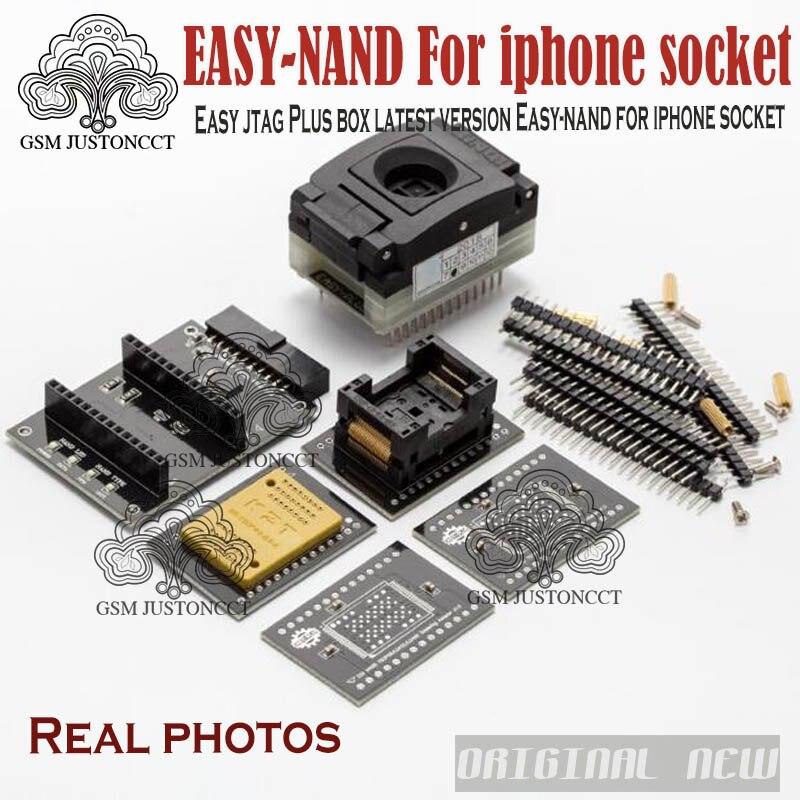 2018 dernière version Easy-nand facile NAND prise pour téléphone portable facile NAND travailler avec facile JTAG plus boîte