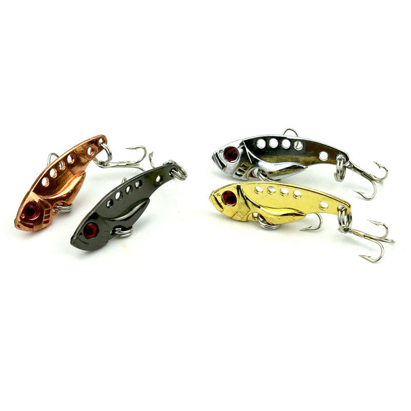 1Pcs 3.2g/3.5cm Metal fishing lure Bionic Bait iscas artificiais para pesca crankbait Metal bait fishing tackle WQ46