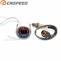 Free shipping CNSPEED 52mm Car Auto Air Fuel Ratio Gauge Smoke Lens Front Narrowband Oxygen Sensor For 1999 2010 Hyundai Accent