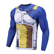 Dragonball Compression Shirt Long Sleeve 3D T Shirts Cell