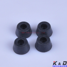 20pcs 17x10mm Round Rubber Feet With Metal For Tube Amp Radio Gear ATA Cabinet цена 2017