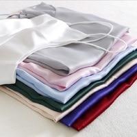 2016 Korean Fashion Harajuku Summer Silk Crop Top Halter Camis Shirt Sexy Basic Blusa Plus Size