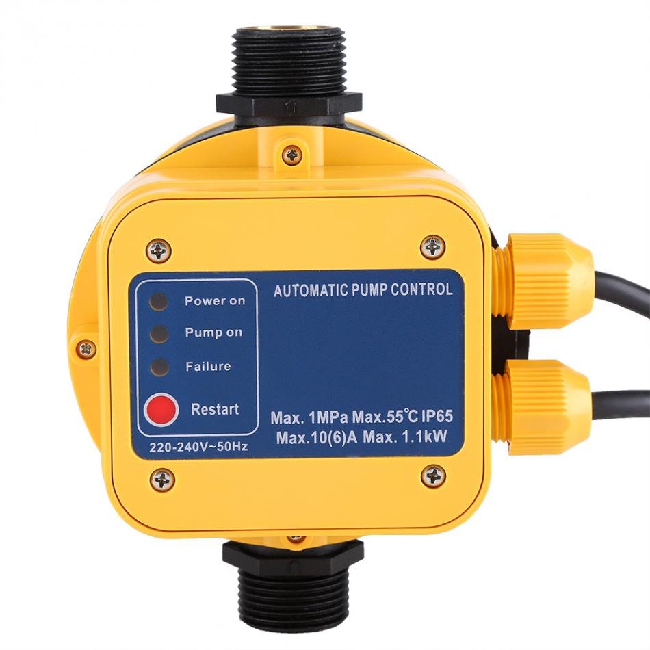 Adjusting Pressure Switch Automatic Electric Electronic Control For New 30 50 Psi Adjustable Well Water Pump Valve Controller With Press Gauge
