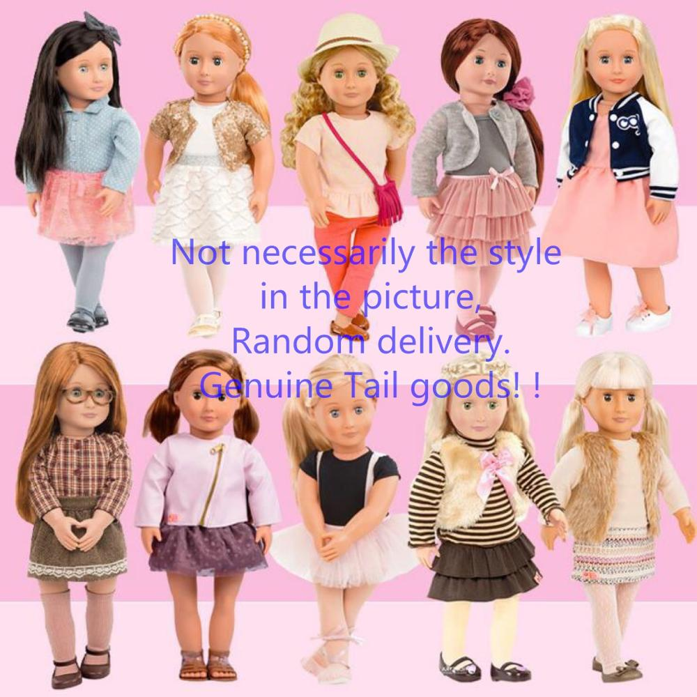 Toy American Doll 18 Inch Dress Doll  + Clothes Shoes + Accessories Toy Birthday Gift Pretend Girl Boy Companionship Child Goods