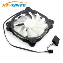 12cm Computer CPU Cooling Fan Heatsink Cooler LED Light Cooling PC Computer Case 12V DC IDE Large 4Pin PWM 20dB Ultra Silent Fan hot sale 4pcs pc cpu cooler 120 mm fan 12v 4pin dc brushless pc computer cooling fan 1800prm for video card thermal pad wholesal