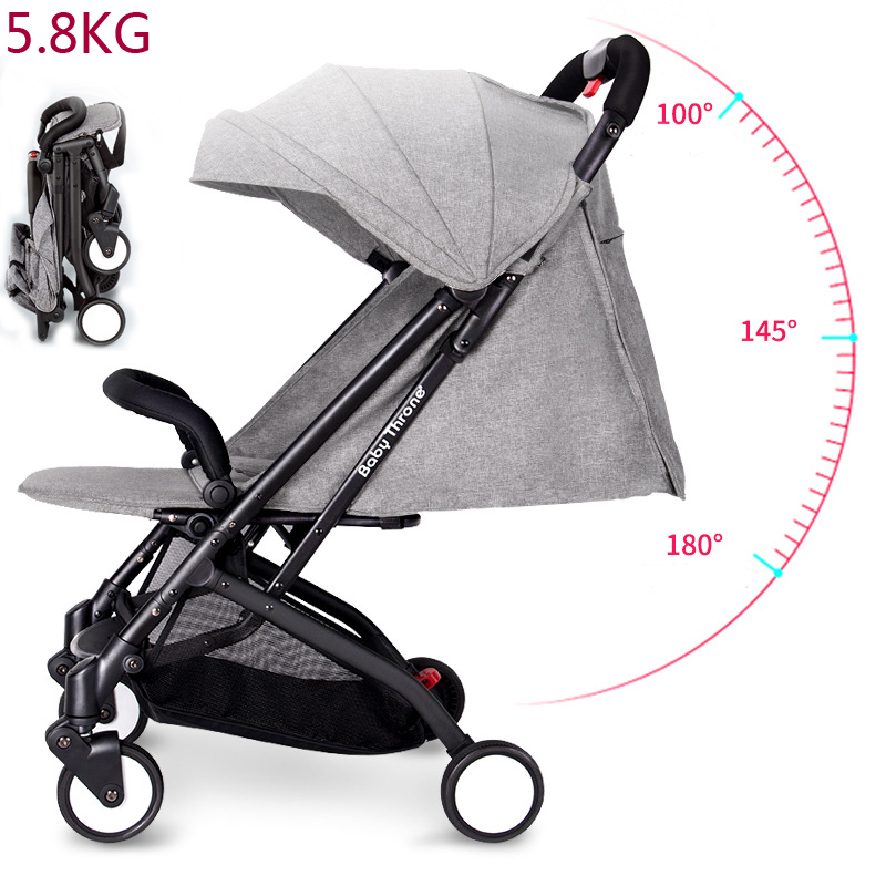 Baby Throne Baby Stroller Portable Can Sit And Lie Down Folding baby car Portable Baby Carriage Brands Buggy Prams Pushchairs