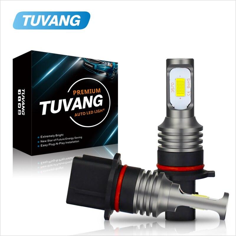 2X Super Bright P13W SH23W PSX26W 3570 Led Projector Lens DRL Auto Fog font b Lamps