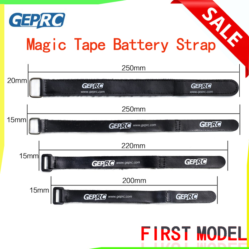 GEPRC Super Magic Tape Tie Battery Strap Ribbon Belt Wear-resistant Cable Holder For DIY RC Drone FPV Quadcopter Acces